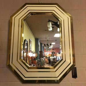 1970s French Mirror