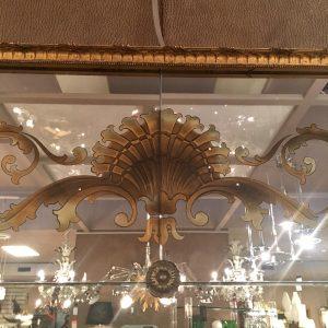 French Verre Eglomise Mirror