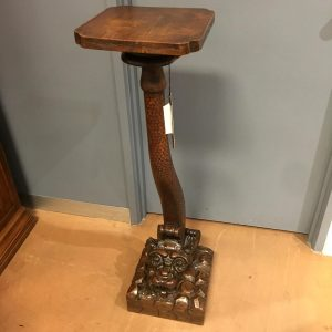 French Walnut Pedestal