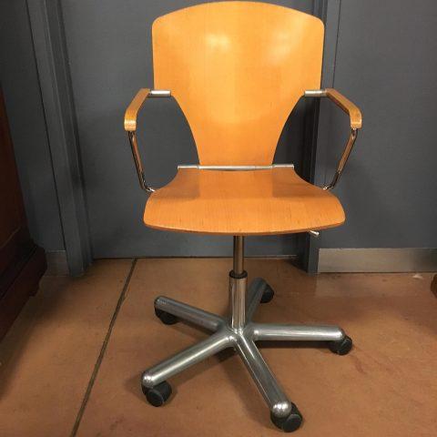 Vintage Spanish Desk Chair
