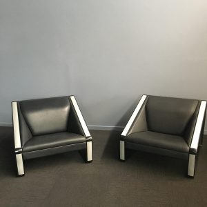 Rare Pair of Chairs by Jacob Jensen