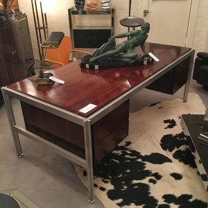 Vintage Danish Desk designed by Jens Risom