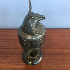 French Bronze Lidded Vessel