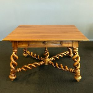 Antique French Fruitwood Centre Table