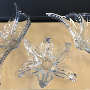 Collection of French Glass Dishes