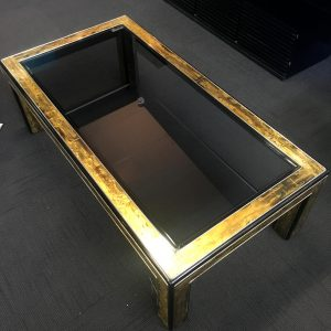 1980s American Mastercraft Coffee Table