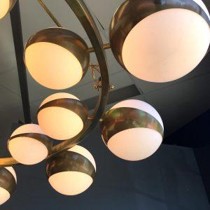 Impressive Circular Hanging Light