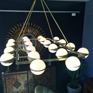 Italian Rectangular Hanging Light