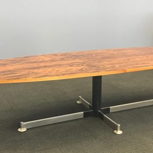Mid Century French Rosewood Coffee Table