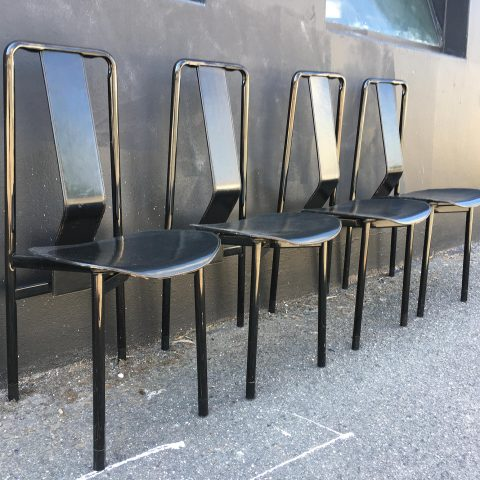 Set of Four Vintage Italian Dining Chairs