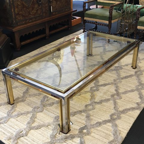 Vintage Italian Coffee Table Signed by Romeo Rega