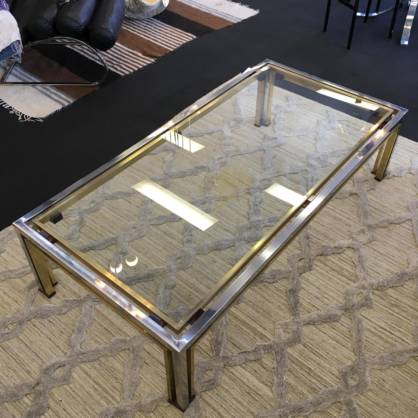 Prime Vintage Italian Coffee Table Signed By Romeo Rega Interior Design Ideas Clesiryabchikinfo