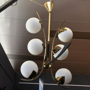 French Hanging Light by Maison Arlus