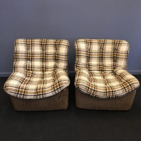 1970s Danish Lounge Chairs