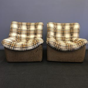 1970s Danish Lounge Chairs