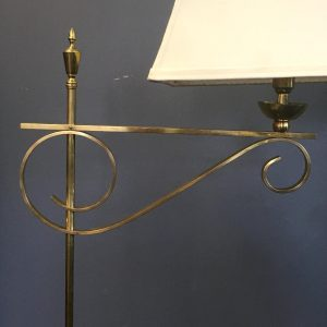French Brass Reading Lamp