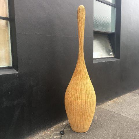 Italian Made Wicker Lamp by Gervasoni
