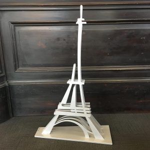Metal Sculpture of The Eiffel Tower