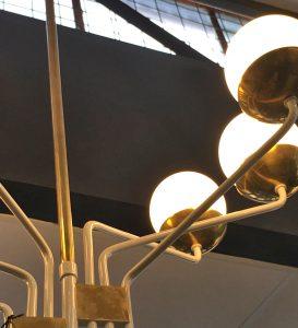 Italian Vintage Hanging Light