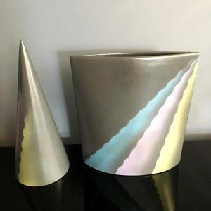 Set of Italian Ceramic Sculptures