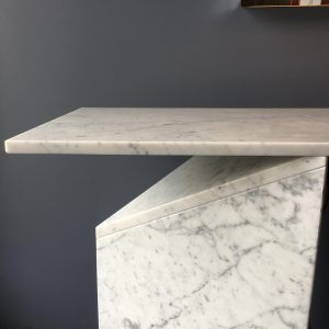 1980s Italian Marble Console