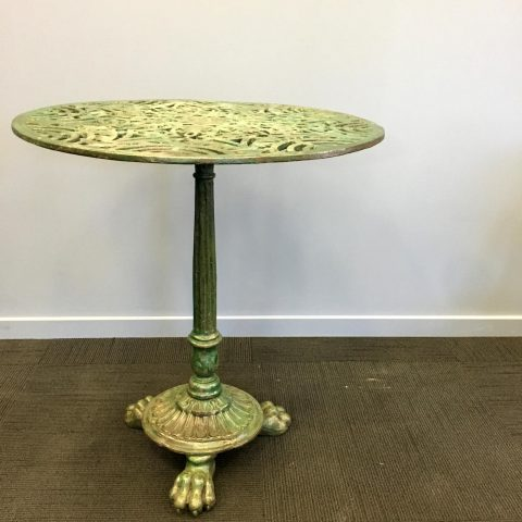 French Cast Iron Cafe Table