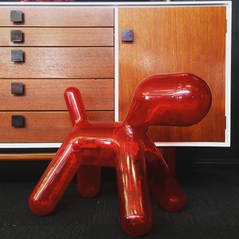 "Resin ""Puppy""designed by Eero Aarnio"