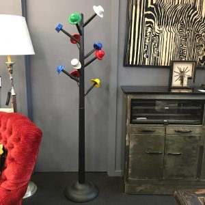 1980s Italian Hat and Coat Stand by Ugo Nespolo