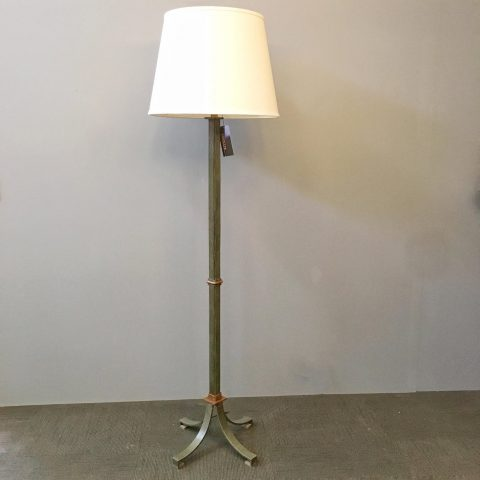 French 1940s Iron Floor Lamp