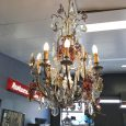 Antique French Cryrstal Chandelier