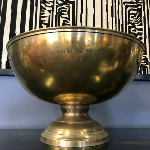 French Vintage Champagne Coupe for Mumm