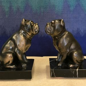 Pair of French Art Deco Bookends