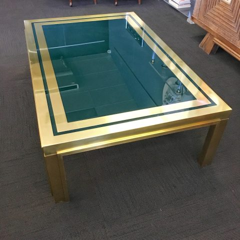 Italian 1970s Coffee Table by Liwans of Rome
