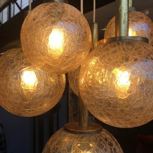 Vintage 1970s Hanging Light