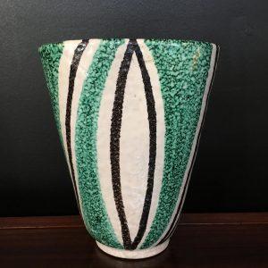 Mid Century Italian Studio Pottery Vase