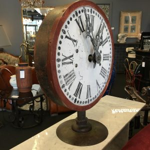 Decorative Mounted Industrial Clock Face