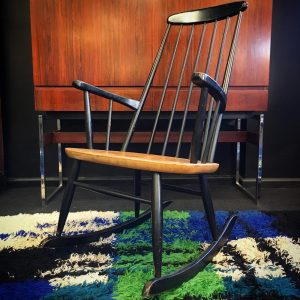Mid Century Scandinavian Rocking Chair