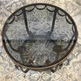 French Art Deco Period Wrought Iron Occasional Table