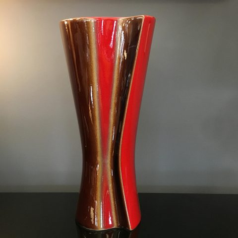 French Mid Century Studio Pottery Vase