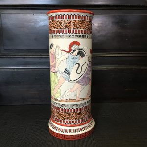 Antique English Earthenware Umbrella Stand
