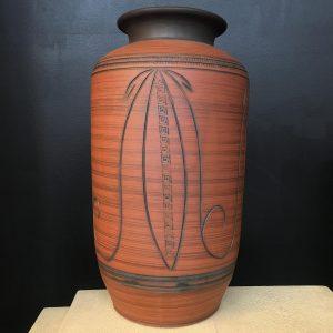 Mid Century Italian Terracotta Vase
