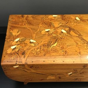 Inlaid French Glove Box from the 1920s