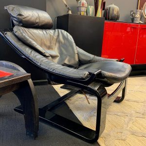 Italian 1980s Sling back Chair