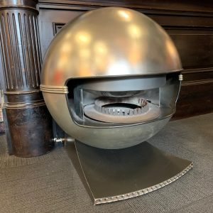 Mid Century Modern Gas Fireplace