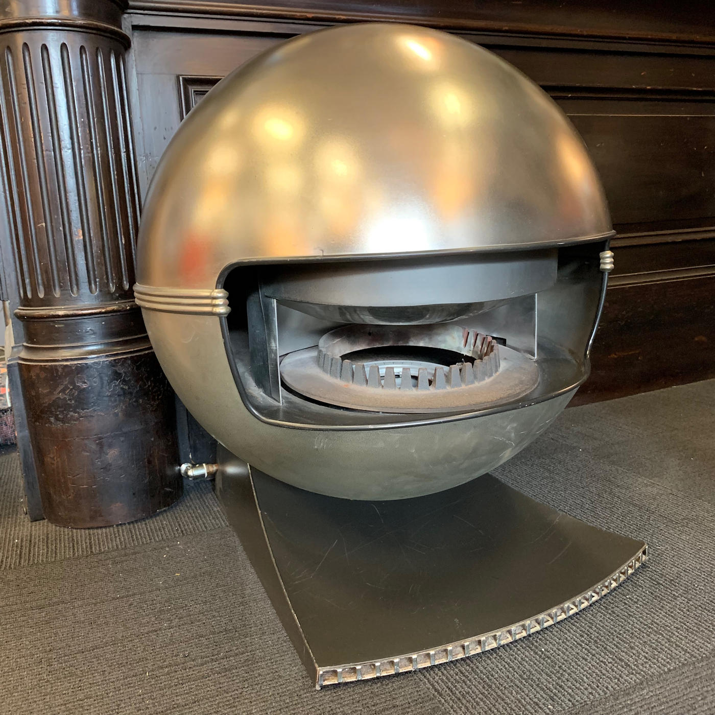 Mid Century Modern Fireplace: Mid Century Modern Gas Fireplace