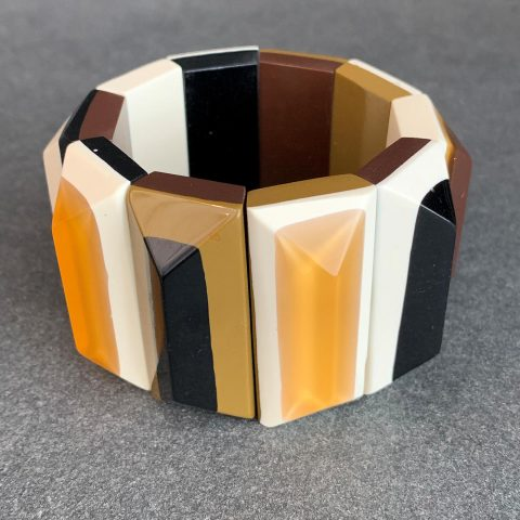 French Bakelite Cuff from the 1950s