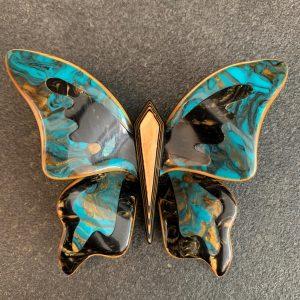 Lea Stein Butterfly Brooch