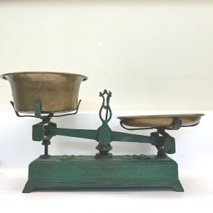 French Cast Iron Kitchen Scales