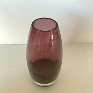 Finnish Amethyst Studio Glass Vase