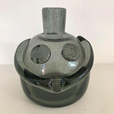 Swedish Figural Glass Vase